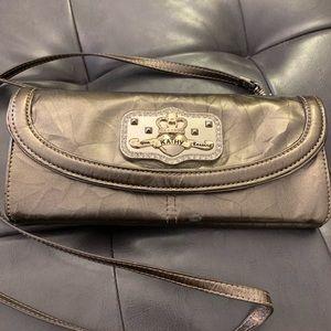 Kathy Van Zeeland bling (crystals) wallet clutch